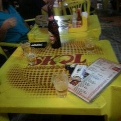 Photo taken at Bar Do Lu (Peixes) by Pricilla S. on 7/4/2014