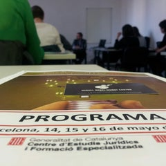 Photo taken at Escola Administració Pública Catalunya by Miguel Ángel M. on 5/16/2014
