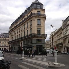 Photo taken at W Paris – Opéra by Adam C. on 4/29/2013