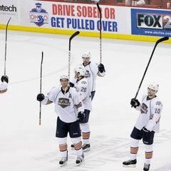 Photo taken at Oklahoma City Barons Hockey by linda k. on 4/8/2013