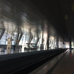 Photo taken at Frankfurt (Main) Flughafen Fernbahnhof by Shari on 4/23/2014
