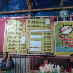Photo taken at Nasi Goreng Padang by channia p. on 9/30/2012