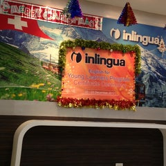 Photo taken at inlingua (International School of Language) by Nong T. on 12/21/2012
