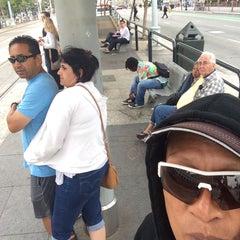 Photo taken at F Street Car Muni Stop - Don Chee Way by OahuAJ on 7/6/2015