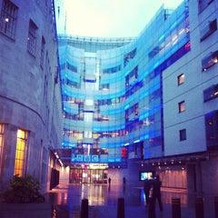 Photo taken at BBC Broadcasting House by OSKAR S. on 5/11/2013
