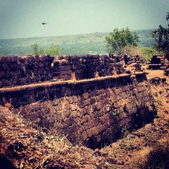Photo taken at Chapora Fort by Sergey R. on 4/16/2013