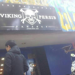 Photo taken at The Original Viking Persib Fanshop by Roby Y. on 3/7/2013