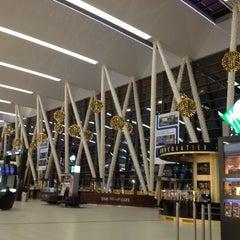 Photo taken at Terminal 2B by Anna B. on 11/30/2012