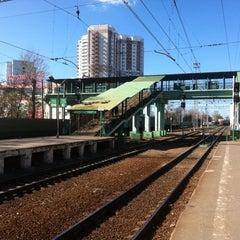 Photo taken at Станция «Одинцово» by Анастасия О. on 5/2/2013