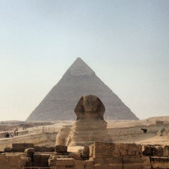 Photo taken at Great Sphinx of Giza | تمثال أبو الهول by Alessandro G. on 10/30/2012