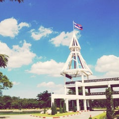 Photo taken at อาคารโดมบริหาร (Dome Administrative Building) by bbobahh . on 11/13/2012