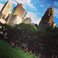 Photo taken at Bryant Park by Анастасия Г. on 6/28/2013