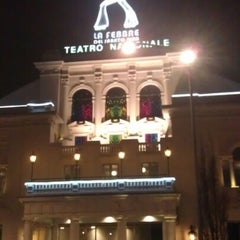 Photo taken at Teatro Nazionale by Giusy P. on 1/12/2013