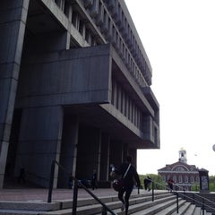 Photo taken at Boston City Hall by William l. on 4/24/2012