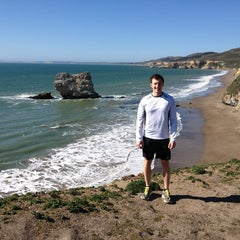 Photo taken at Point Reyes National Seashore - South Beach by Chris on 2/25/2013