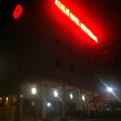 Photo taken at Azalai Hotel Independance Ouagadougou by A H. on 9/26/2013