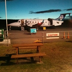 Photo taken at Taupo Airport (TUO) by Aidan C. on 2/9/2014