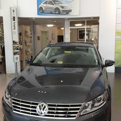 Photo taken at Lindsay Volkswagen of Dulles by Gregory G. on 10/16/2012
