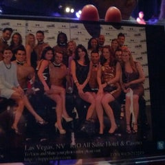 Photo taken at Chippendales Theatre at The Rio Vegas by Shanna P. on 1/27/2013