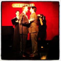 Photo taken at Jazz Standard by Tanya Z. on 10/20/2012