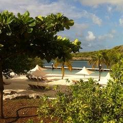 Photo taken at Santa Barbara Beach & Golf Resort Curaçao by Becky L. on 1/21/2013