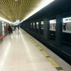 Photo taken at Metro Centrale FS (M2, M3) by Alessandro V. on 2/21/2013