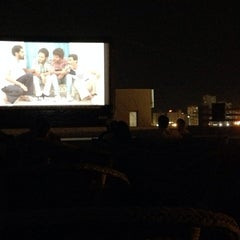 Photo taken at Cinemagic's Rooftop Venue by Reymond C. on 5/17/2014