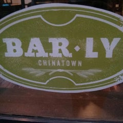 Photo taken at Bar Ly Chinatown by Mary B. on 9/3/2013