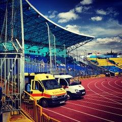 Photo taken at Центральный Стадион / Central Stadium by Sergei M. on 7/25/2013