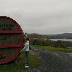 Photo taken at Keuka Spring Vineyards by Mike T. on 10/14/2013
