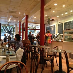 Photo taken at Arlequin Cafe & Food To Go by Michelle W. on 11/29/2012