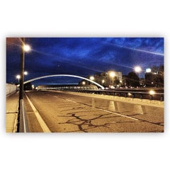 Photo taken at Puente de Ventas by Antonio J. on 3/30/2015