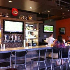 Photo taken at Dick's Wings & Grill by Susan C. on 9/29/2012