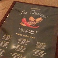 Photo taken at La Cocina by Lisa S. on 1/23/2013