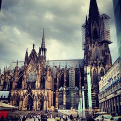 Photo taken at Kölner Dom by Andrew R. on 6/11/2013