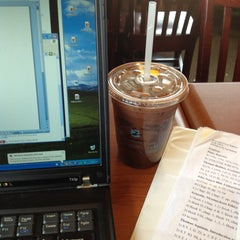Photo taken at Caribou Coffee by Celia M. on 4/24/2013