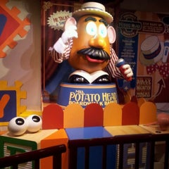 Photo taken at Toy Story Midway Mania by Tracey L. on 12/22/2012