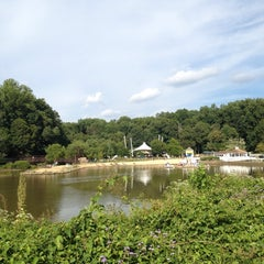 Photo taken at Lake Accotink Park by Jen F. on 9/7/2013