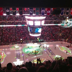 Photo taken at Xcel Energy Center by Rachel C. on 5/8/2013