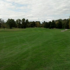 Photo taken at Briarwood Golf Course by Justin S. on 9/29/2012