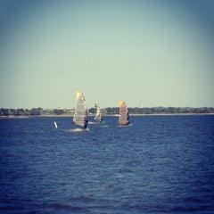 Photo taken at Windsurf Bay Park by Maria P. on 10/21/2013