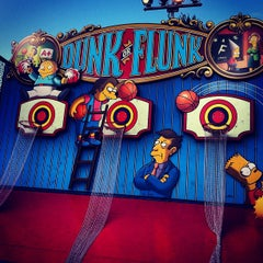 Photo taken at The Simpsons Ride by Kenny N. on 10/15/2012