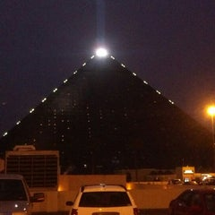Photo taken at Luxor Hotel & Casino by Thomas D. on 3/9/2013