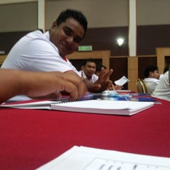 Photo taken at Pusat Latihan RISDA (RISTEC) by Norhafiszin R. on 10/16/2012