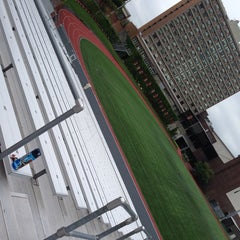 Photo taken at Nickerson Field by Erica R. on 5/25/2014