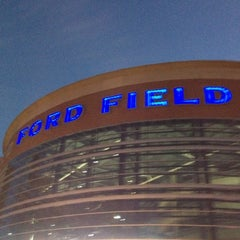 Photo taken at Ford Field by Cathie C. on 10/28/2012