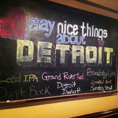 Photo taken at Detroit Beer Company by Lauren M. on 2/22/2013