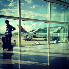 Photo taken at Aeroport de Barcelona-El Prat (BCN) by Orla Rose B. on 10/6/2013