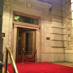Photo taken at The Plaza Hotel by Erin G. on 12/16/2012