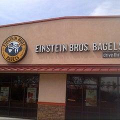 Photo taken at Einstein Bros Bagels by Nuning  i. on 8/19/2013